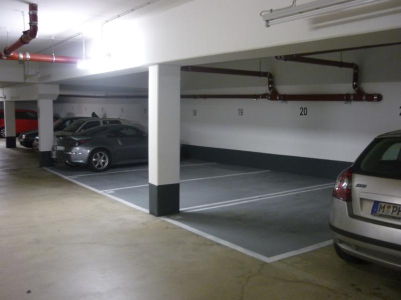 Expert's opinion on a new coating after fire damage, underground car park, Munich