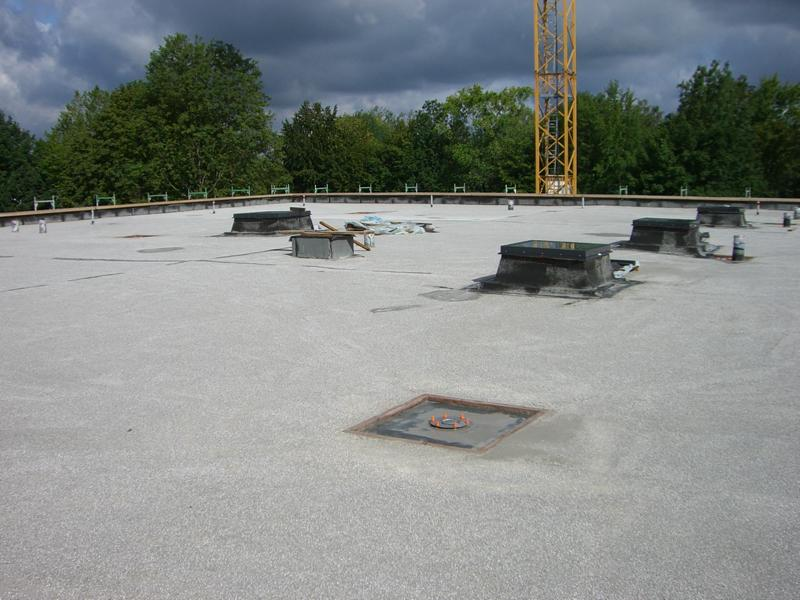 Advice on the quality of a lightweight screed on a flat roof in Günzburg